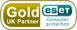 ESET Gold Partner. Award winning antivirus and anti-malware